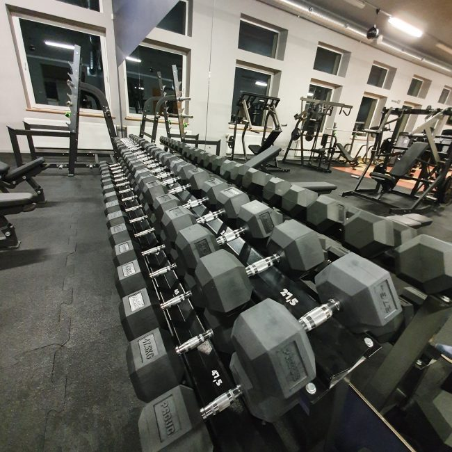 widok siłowni